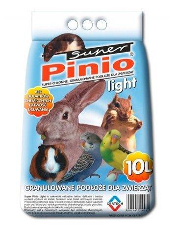 Super Benek Pinio Light,10 l kaina ir informacija | Kraikas, šienas graužikams | pigu.lt