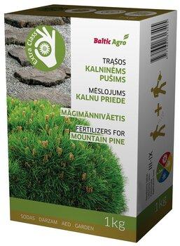 Baltic Agro granuliuotos trąšos kalninėms pušims, 1 kg kaina ir informacija | Birios trąšos | pigu.lt