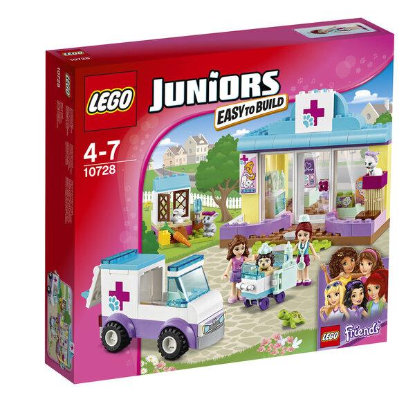 Konstruktorius LEGO™ Juniors Mia's Vet Clinic 10728 kaina ir informacija | Konstruktoriai ir kaladėlės | pigu.lt