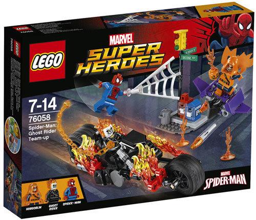 Konstruktorius LEGO™ Super Heroes Spider-Man: Ghost Rider Team-up 76058 kaina ir informacija | Konstruktoriai ir kaladėlės | pigu.lt