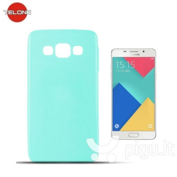 Telone Candy Ultra Slim 0.3mm Shine Jelly Back Case Samsung A510F Galaxy A5 Light Blue kaina ir informacija | Telefono dėklai | pigu.lt