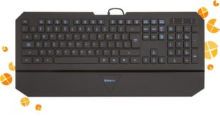 Wired keyboard Defender Oscar SM-660L Pro RU,black,4-level backlight