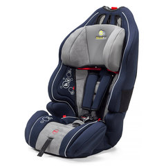 Automobilinė kėdutė Kinderkraft Smart Up 9-36 kg, (I/II/III), Navy