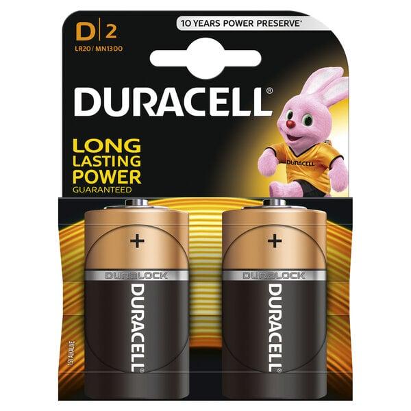 Elementai Duracell D LR20 2vnt. kaina ir informacija | Elementai | pigu.lt