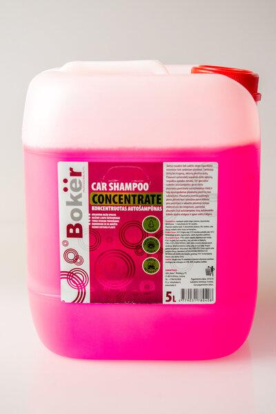 Automobilio šampūnas Boker, 5 L kaina ir informacija | Automobilinė chemija | pigu.lt