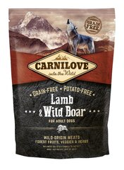 Carni Love Lamb & Wild Boar for Adult 1,5kg kaina ir informacija | Carni Love Lamb & Wild Boar for Adult 1,5kg | pigu.lt