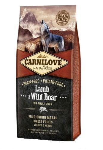 Carni Love Lamb & Wild Boar for Adult 12kg kaina ir informacija | Sausas maistas šunims | pigu.lt