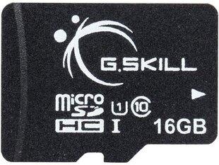 Atminties kortelė G.Skill microSDHC 16 GB, klasė 10
