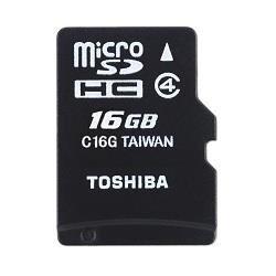 Toshiba M102 microSDHC 16GB class 4
