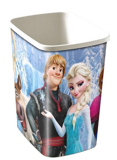 Šiukšliadėžė Curver Deco Flip Frozen, 25L kaina ir informacija | Vonios kambario aksesuarai | pigu.lt