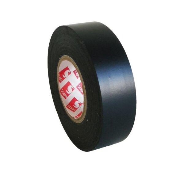 Tekstilinė izoliacinė juosta SCAPA 19/10 juoda (3370) kaina ir informacija | Mechaniniai įrankiai | pigu.lt