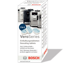 Valomosios tabletės Bosch TCZ8002 3 vnt. kaina ir informacija | Bosch Buitinės technikos priedai | pigu.lt