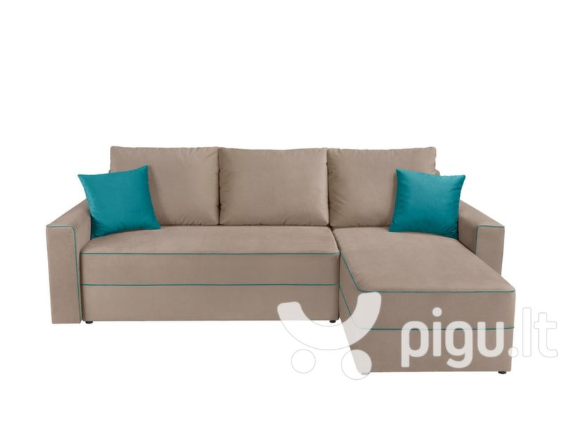 Universalus kampas Berg Lux 3DL kaina ir informacija | Sofos, foteliai ir minkšti kampai | pigu.lt