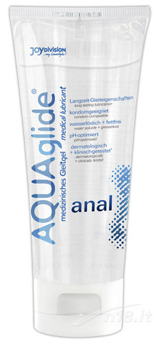"Analinis lubrikantas ""Aquaglide"" 100 ml."