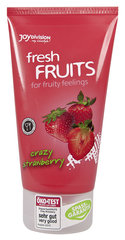 "Lubrikantas ""Fresh Fruits Strawberry"" Joy Division 150 ml."