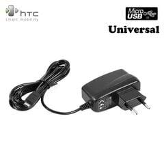 HTC TC E150 universalus įkroviklis, 1A, micro USB, Juodas