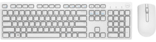 Dell US/International (QWERTY) KM636 Wireless Клавиатура и мышь (QWERTY) White