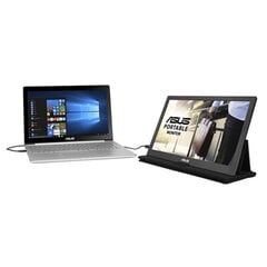 Asus MB169C+ 15.6inch, IPS, USB Type-C (DP Alt mode) kaina ir informacija | Monitoriai | pigu.lt