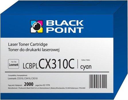 Toner Black Point LCBPLCX310C | cyan | 2000 pp | Lexmark | 80C2SC0