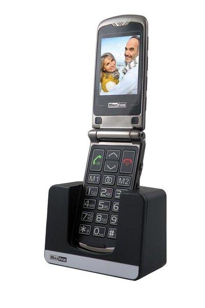 MaxCom MM822BB, Juoda kaina ir informacija | Mobilieji telefonai | pigu.lt