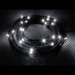 Nzxt strap 24x bulbs LED 2m (CB-LED20-WT) kaina