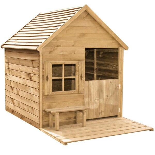 Vaikų žaidimų namelis Heidi Forest Style kaina ir informacija | Čiuožyklos, smėlio dėžės, sūpuoklės | pigu.lt