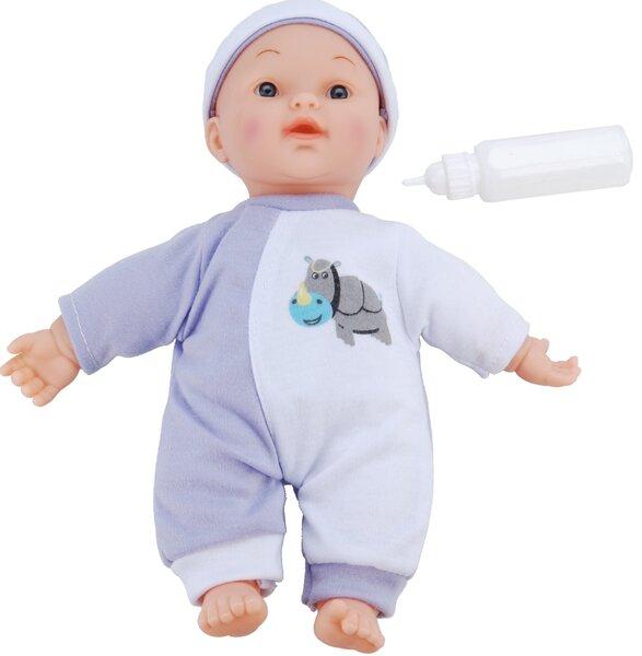 Lėlė su garsais ir buteliuku, 25 cm kaina ir informacija | Žaislai mergaitėms | pigu.lt