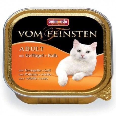 Animonda Vom Feinsten su paukštiena ir veršiena, 100g kaina ir informacija | Konservai katėms | pigu.lt