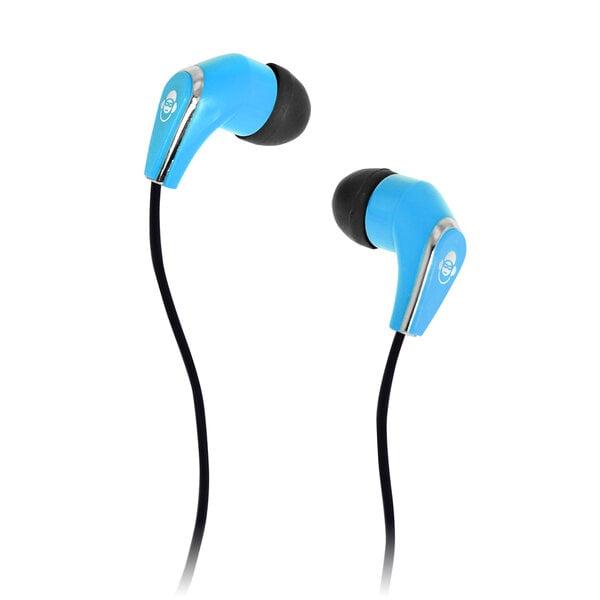Įstatomos ausinės Idance SLAM 30, šviesiai mėlynos kaina ir informacija | Ausinės, mikrofonai | pigu.lt