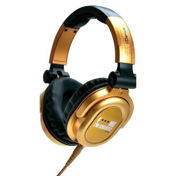 Laidinės ausinės Idance FxxxME-FDJ500, auksinė/juoda kaina ir informacija | Ausinės, mikrofonai | pigu.lt