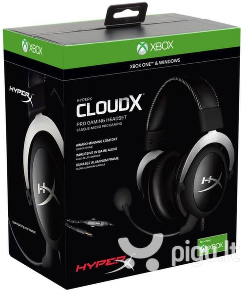 Kingston HyperX CloudX skirtos XBOX/PC