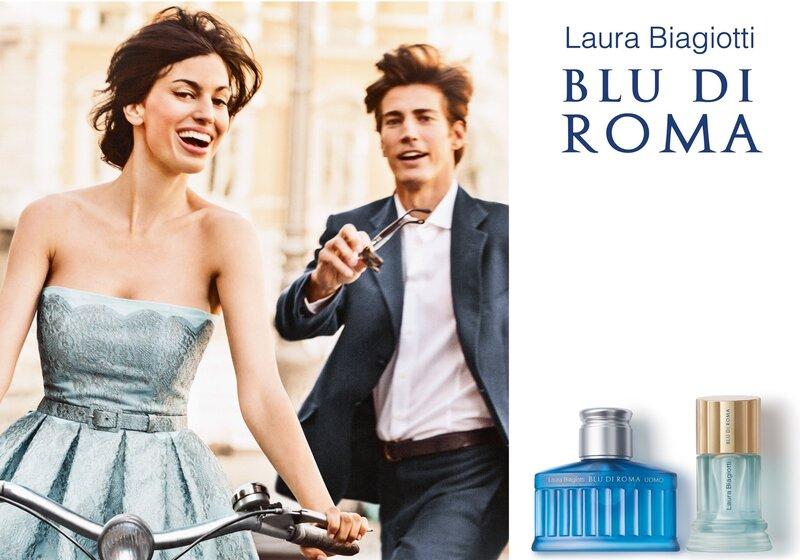 Tualetinis vanduo Laura Biagiotti Blu di Roma Donna EDT moterims 50 ml