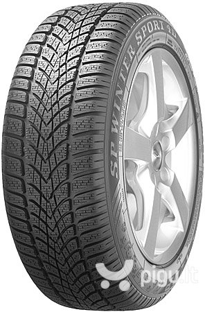 Dunlop SP Winter Sport 4D 225/55R17 97 H ROF * MO kaina ir informacija | Padangos | pigu.lt
