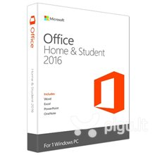 Microsoft 79G-04631 Office Home and Student 2016 Win Latvian EuroZone Medialess P2