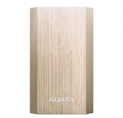 ADATA A10050 POWER BANK 10050mAh, Auksinis