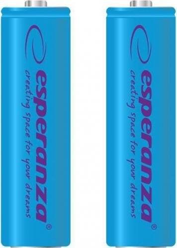 Įkraunama baterija Esperanza EZA103B Ni-MH AA 2000 mAh x 2