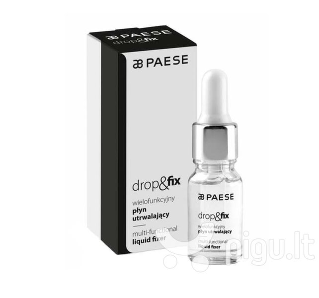 Makiažo bazė-fiksatorius Paese Drop & Fix 10 ml
