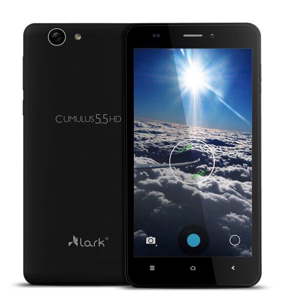 Lark Cumulus 5.5HD, Juodas kaina ir informacija | Mobilieji telefonai | pigu.lt