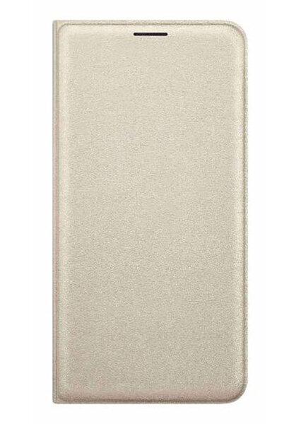 Apsauginis dėklas Flip Cover skirtas Galaxy J710, Auksinis