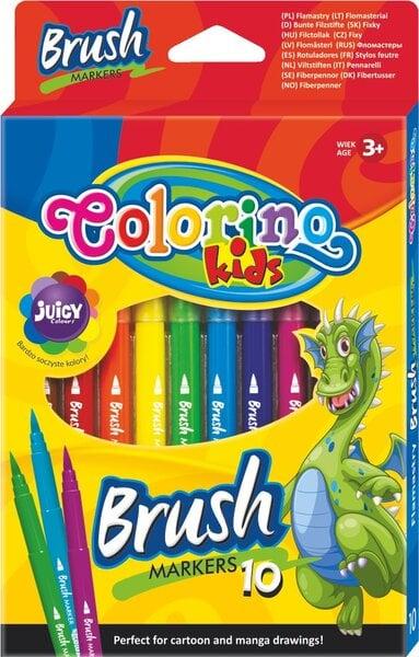 Nuplaunami flomasteriai Colorino Kids, 10 spalvų