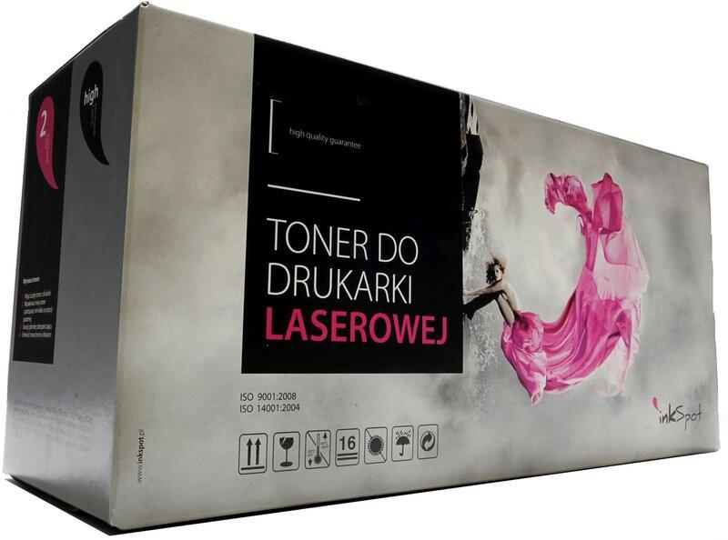 Toneris INKSPOT skirtas lazeriniams spausdintuvams (HP) (juoda)