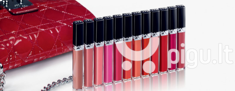 Lūpų blizgis Dior Rouge Brillant 3.5 g,766 Rose Harpers