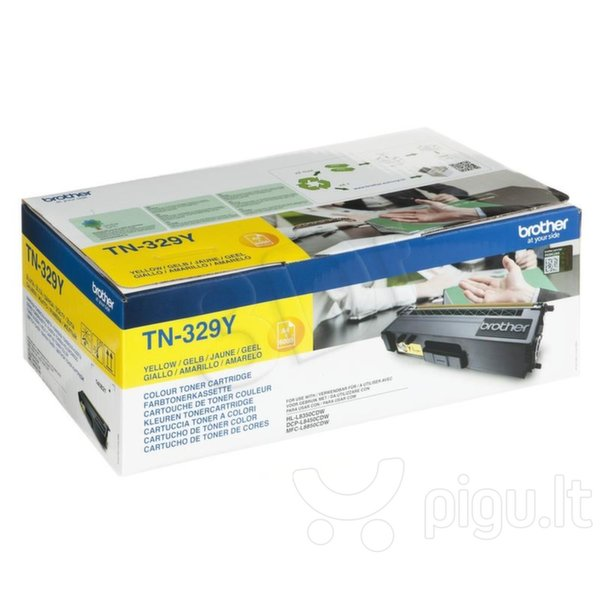 Toner Brother TN329 żółty