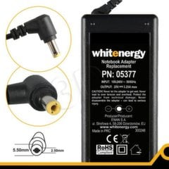 Whitenergy do Asus 65W 20V (wtyk 5.5x2.5)