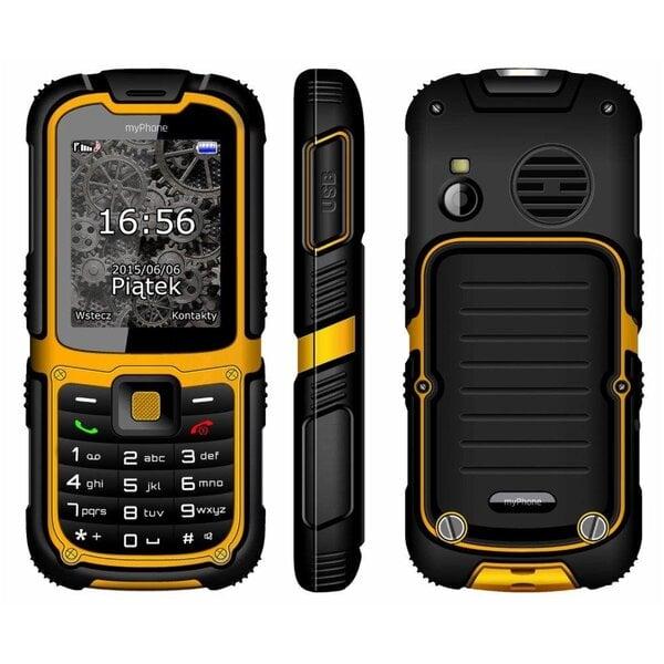 MyPhone Hammer 2 Plus, Geltonas internetu