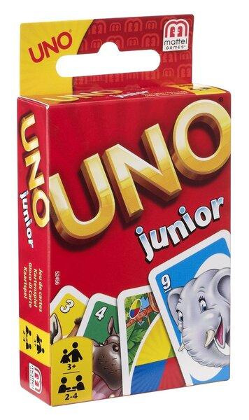 Kortos Uno Junior, 52456 kaina ir informacija | Lavinamieji žaislai | pigu.lt
