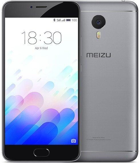 Meizu M3 Note 16GB, Pilka kaina ir informacija | Mobilieji telefonai | pigu.lt