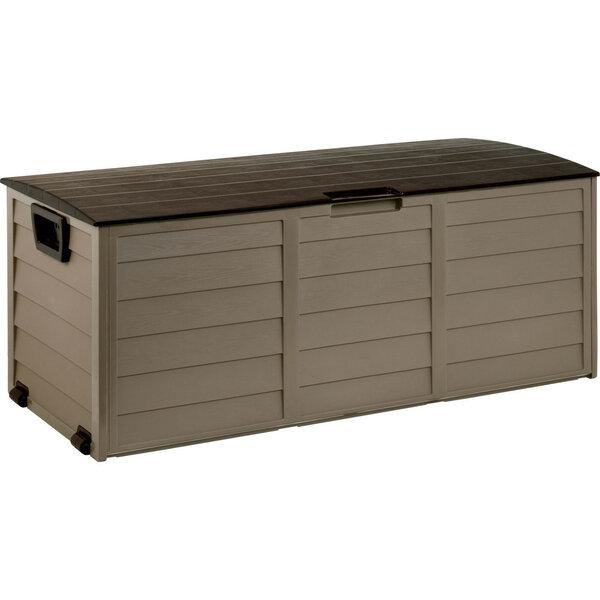 Sodo įrankių dėžė/suoliukas su ratukais FDD 1002B Israel design, 325l kaina ir informacija | Sodo įrankiai | pigu.lt