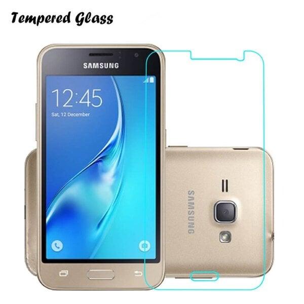 Apsauginis stiklas Tempered Glass skirtas Samsung Galaxy J1 (J120F)(2016) kaina ir informacija | Apsauginės plėvelės telefonams | pigu.lt