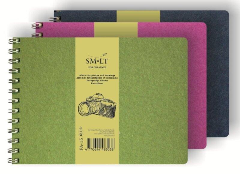 Fotografijų ir piešinių albumas, 15 lapų kaina ir informacija | Kanceliarinės prekės | pigu.lt